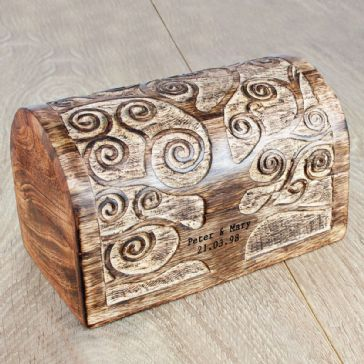 Let's Grow Old Together Tree Wooden Box